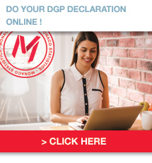 Do your GDP declaration online !