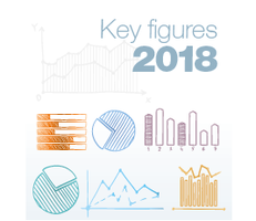 Couverture Key figures 2018