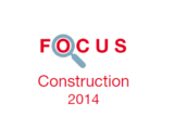 Couverture Focus Construction 2014