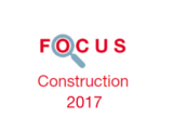 Couverture Focus Construction 2017