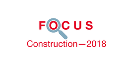 Couverture Focus Construction 2018