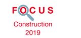 Couverture Focus Construction 2019