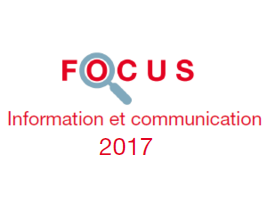 Couverture Focus Information et communication 2017