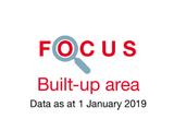 Couverture 2019 Focus Built-up area cover